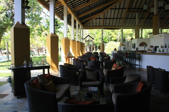 Amaya Lake : View from the dining area