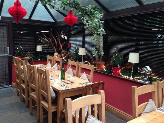 The Tavern: Dinning Room at Christmas