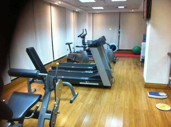 Byblos Hotel Dubai: Pretty small gym :(