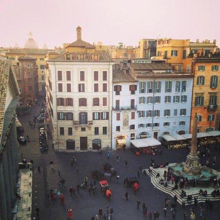 Albergo del Senato: View from our terrace