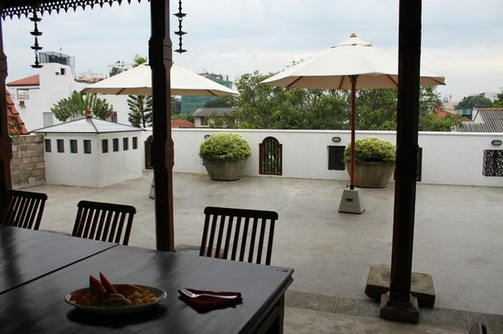 Austin Manor Colombo: Vew from the roof deck