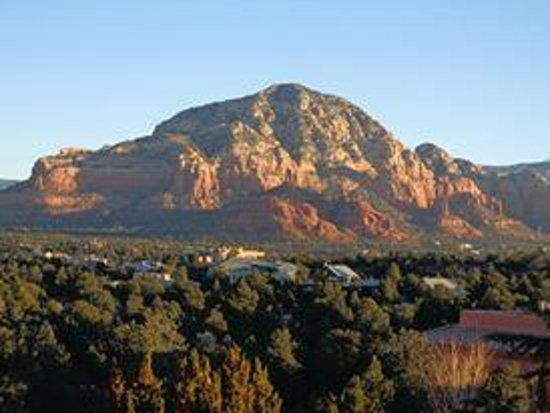 Sedona Summit Resort: The view from our balcony