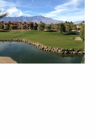 Marriott's Shadow Ridge I-The Villages : View of 16th hole green and mountain area