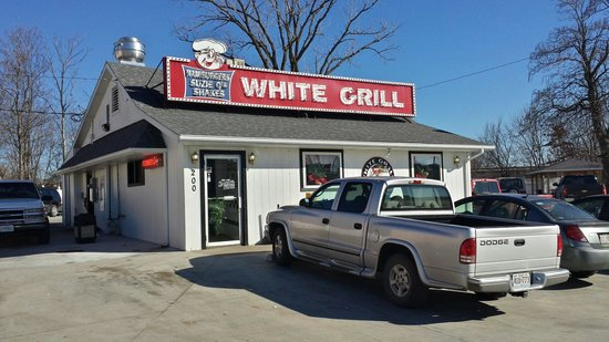 White Grill: Great Hamburger