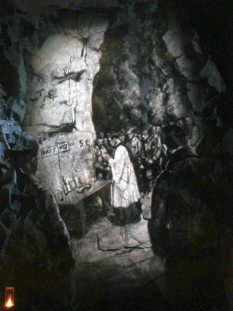 Wellington Tunnels, Memorial to the Battle of Arras: Prayer for the fight