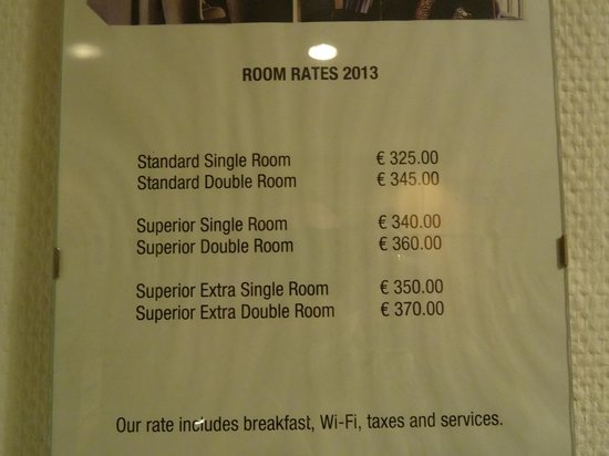 Scandic Hotel Grand Place: Ridiculous room rates for this hotel