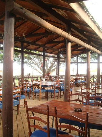 Aero Club of East Africa: Outside Dining Area