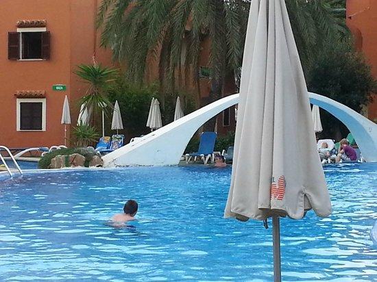HSM Club Torre Blanca: Zona piscina