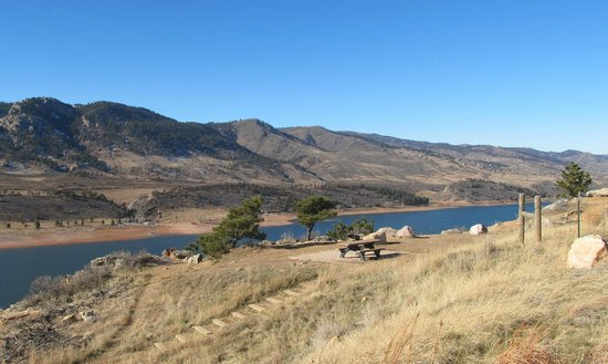 Horsetooth Mountain Open Space : Beautiful December day 2013