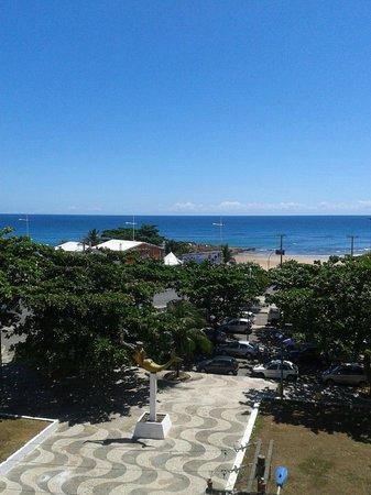 Bahia Park Hotel : Vista da piscina do hotel, Largo da Mariquita no Rio Vermelho