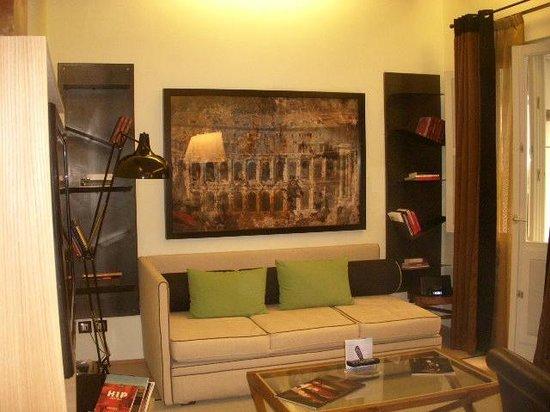 Babuino 181: Living room