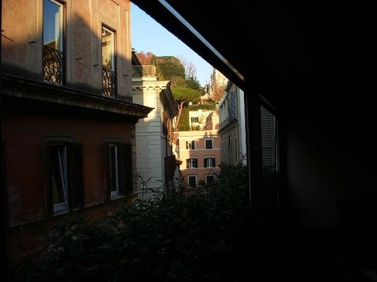 Babuino 181: Room terrace view