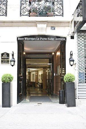 BEST WESTERN  Le Patio Saint Antoine: Exterior