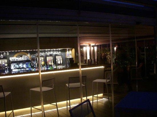 Babuino 181: Top floor terrace bar