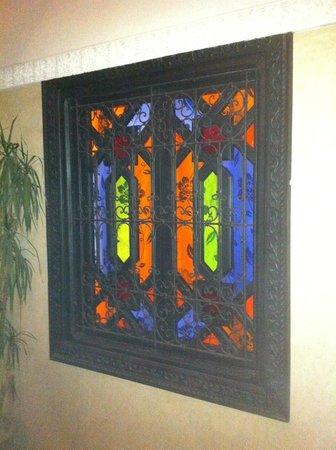 Riad Nesma : Our room's internal window