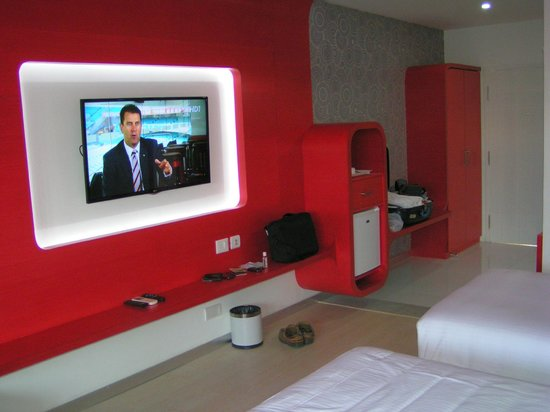 Grande Bay Resort and Spa : Nice and modern design in the rooms