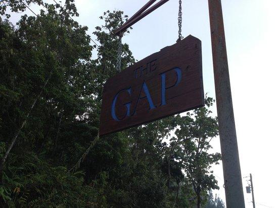 Holywell Park : The Gap