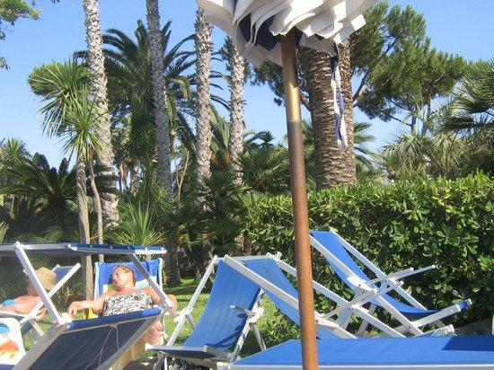 Park Hotel Terme Mediterraneo: на бассейне