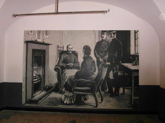 Kilmainham Gaol: Painting on wall