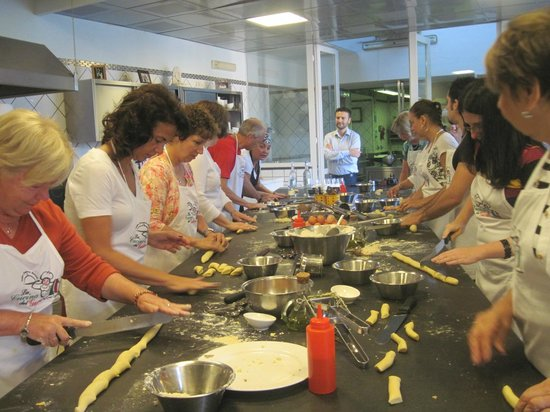 Hotel Oasi Olimpia Relais : Cooking Class
