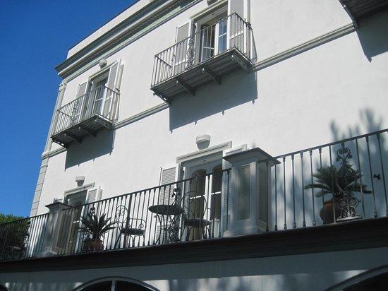Hotel Oasi Olimpia Relais : Hotel Balcony