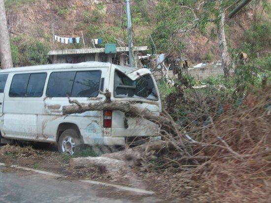 Busuanga Island Paradise: Typhoon damage