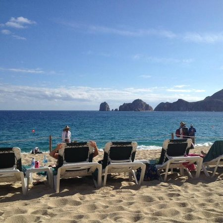 Villa del Palmar Beach Resort & Spa Los Cabos : beach chairs,ocean swimming..ahhhh