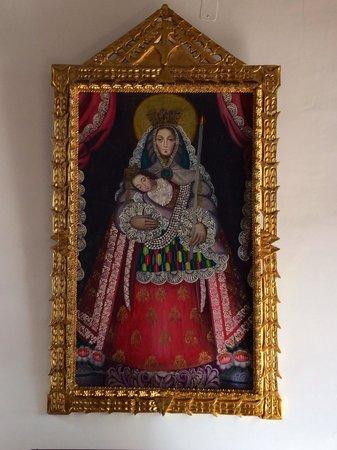 El Hostal de Su Merced: Artwork in lobby