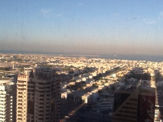 Emirates Grand Hotel: view from apartment