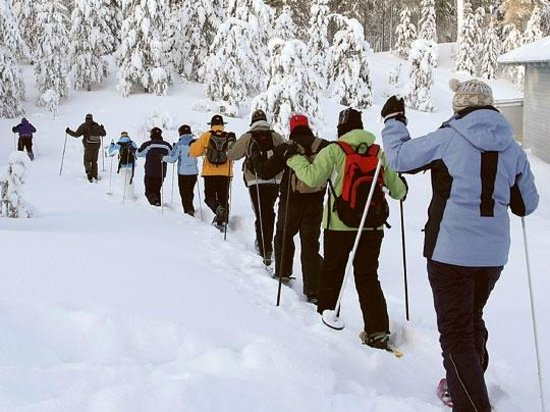 The Gear ReSource Outfitters: Snowshoeing!