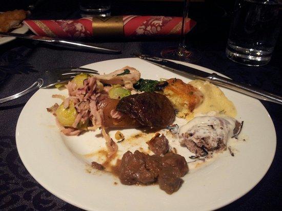 Araz Restaurant Budapest: Delicious selection for Christmas brunch