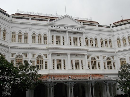 Raffles Hotel Singapore : The most fabulous building in Singapore