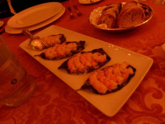 Hotel Oasi Olimpia Relais: Appetiser before dinner