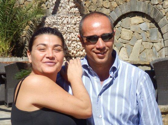 Hotel Oasi Olimpia Relais: Carmen and an Italian driver