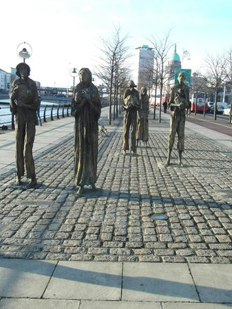 The Famine Sculptures: Famine Sculpture