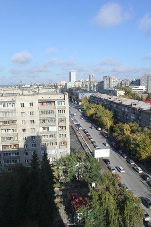 AZIMUT Hotel Siberia: Вид из окна 12 этажа