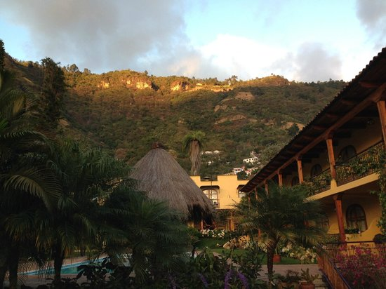 Villa Santa Catarina: vista a santa catarina