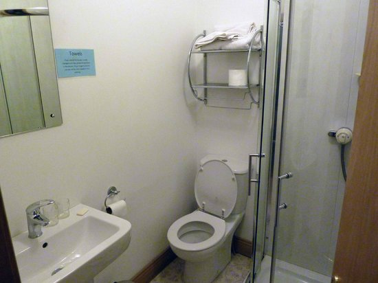 Auburn House B&B: baño