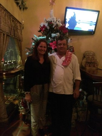 Amadeus Restaurant: Me and the Chef
