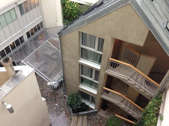 Hotel Jules & Jim : the view from the balcony