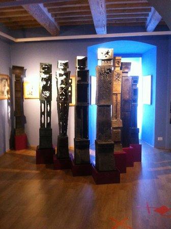 Il Cassero per la Scultura Italiana dell'Ottocento e del Novecento: Il Cassero a Montevarchi, una sala