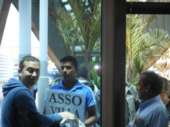 Asso Villa: in aeroporto
