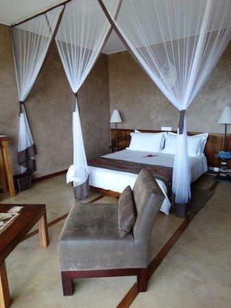 Isalo Rock Lodge: Bedroom