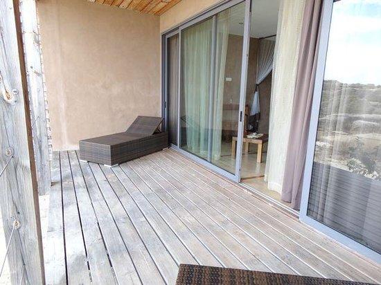 Isalo Rock Lodge: Room balcony