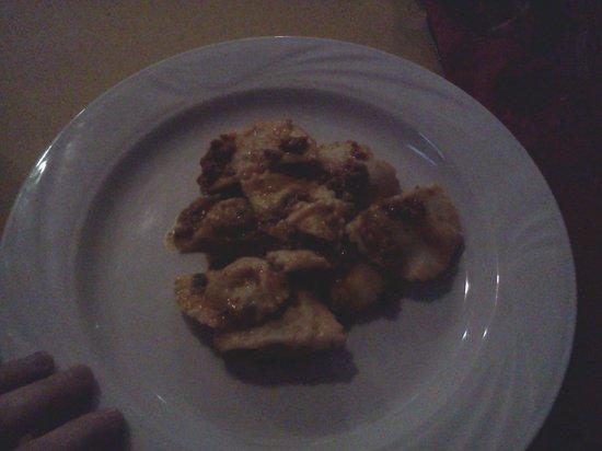 Ristorante La Buca: 7 mini-tordelli mi sembrano pochi, no??? Mah!