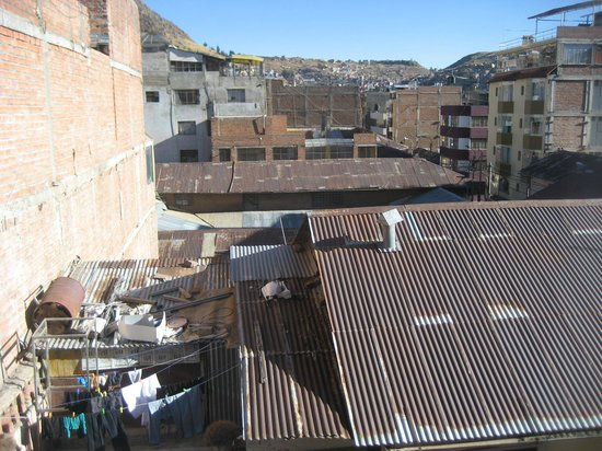 Sol Plaza Hotel Puno: View from 4th floor