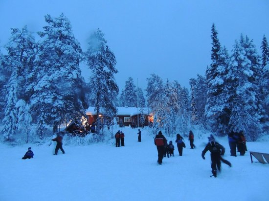Lapland Hotel Akashotelli: Santa activity area