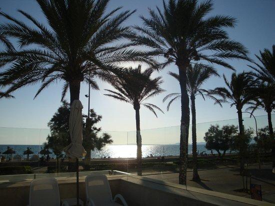 HM Gran Fiesta: vue d'une terrasse de l'hotel ,vue magnifique pour boire un verre tranquille
