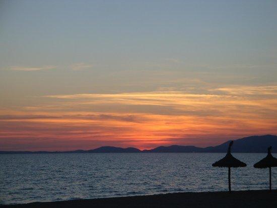 HM Gran Fiesta: la plage une splendeur de jour comme de nuit