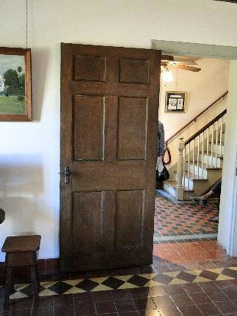 Father Miguel O Reilly House Museum Original Interior Doors Note Configuration Cross